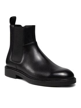 Vagabond Vagabond Členková obuv s elastickým prvkom Alex M 5266-001-20 Čierna