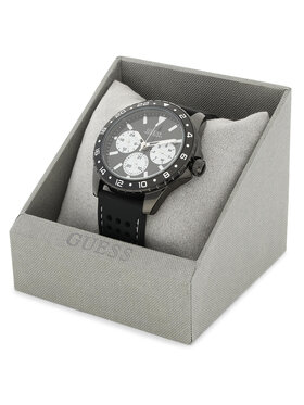 Guess Guess Часовник Odyssey W1108G3 Черен