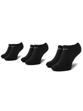 Nike Nike Súprava 3 párov kotníkových ponožiek unisex SX7673 010 Čierna