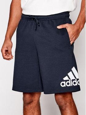 adidas adidas Sportske kratke hlače M Mh BoSShortFt FM6349 Tamnoplava Standard Fit