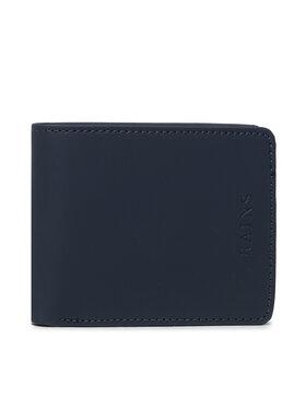Rains Rains Portefeuille homme grand format Folded Wallet 1660 Bleu marine