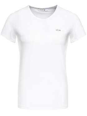 Lacoste Lacoste T-shirt TF0998 Blanc Regular Fit