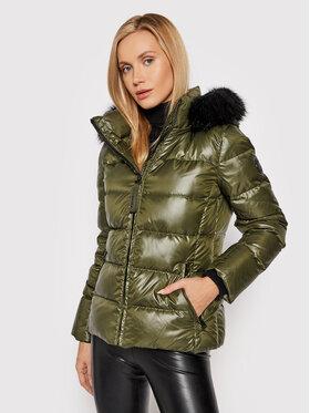 Calvin Klein Calvin Klein Kurtka puchowa Essential K20K203126 Zielony Regular Fit