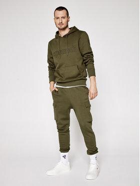 Sprandi Sprandi Teplákové kalhoty SS21-SPM002 Zelená Regular Fit