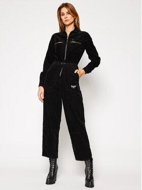 Tommy Jeans Tommy Jeans Jumpsuit Regular Zip Boiler DW0DW09190 Nero Regular Fit