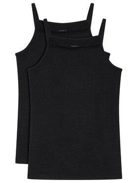 NAME IT NAME IT 2 marškinėlių komplektas 13163589 Juoda Slim Fit