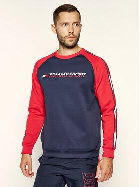 Tommy Sport Tommy Sport Sweatshirt Stretch S20S200276401 Bleu marine Regular Fit