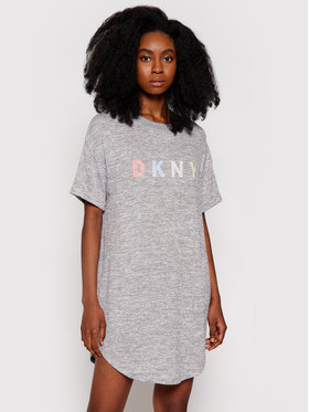DKNY DKNY Sukienka codzienna YI2322455 Szary Regular Fit