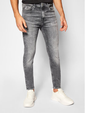 Calvin Klein Jeans Calvin Klein Jeans Skinny Fit džíny J30J316016 Šedá Skinny Fit