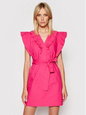 Rinascimento Rinascimento Každodenné šaty CFC0103605003 Ružová Regular Fit