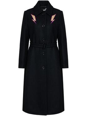 LOVE MOSCHINO LOVE MOSCHINO Kabát pro přechodné období WK50101T 008A Černá Regular Fit