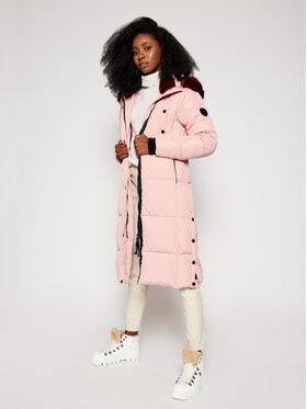 Desigual Desigual Žieminis paltas Sveta 20WWEW38 Rožinė Regular Fit