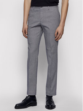 Boss Boss Spodnie materiałowe Stanino17-W 50450182 Szary Slim Fit