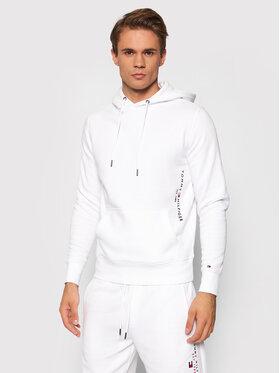 Tommy Hilfiger Tommy Hilfiger Bluza Logo MW0MW18713 Biały Regular Fit