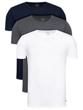 Polo Ralph Lauren Polo Ralph Lauren Set 3 tricouri 714830304005 Colorat Regular Fit