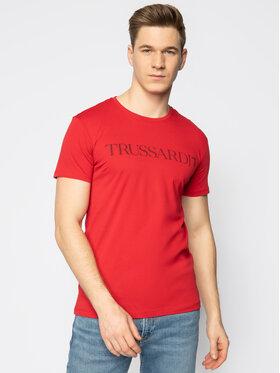 Trussardi Jeans Trussardi Jeans T-Shirt 52T00305 Czerwony Regular Fit