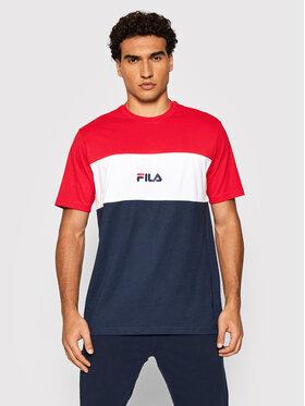 Fila Fila T-Shirt Anoki 688468 Tmavomodrá Regular Fit