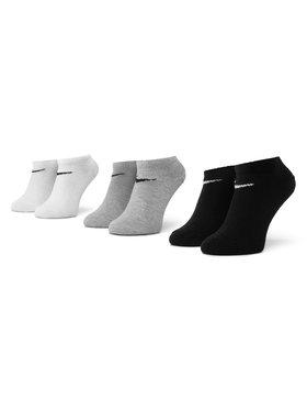 NIKE NIKE Sada 3 párů nízkých ponožek unisex SX2554 901 Černá