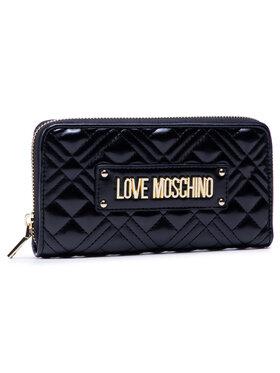 LOVE MOSCHINO LOVE MOSCHINO Голям дамски портфейл JC5600PP1BLA0000 Черен