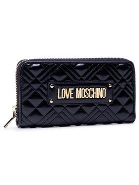 LOVE MOSCHINO LOVE MOSCHINO Große Damen Geldbörse JC5600PP1BLA0000 Schwarz