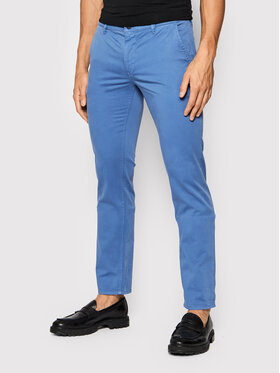 Boss Boss Чино панталони Schino 50379152 D Син Slim Fit