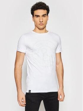 Rage Age Rage Age T-shirt Marshall Blanc Slim Fit