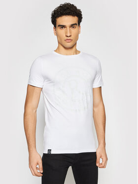 Rage Age Rage Age T-Shirt Marshall Weiß Slim Fit