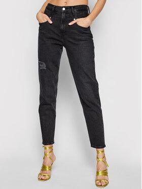 Calvin Klein Jeans Calvin Klein Jeans Blugi J20J216487 Negru Mom Fit