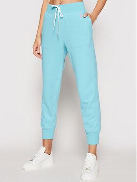Polo Ralph Lauren Polo Ralph Lauren Teplákové nohavice Akl 211780215014 Modrá Regular Fit