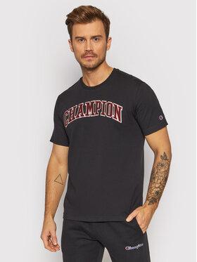 Champion Champion T-Shirt 216581 Czarny Comfort Fit