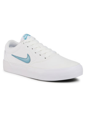 Nike Nike Chaussures Sb Charge Cnvs (Gs) CQ0260 100 Blanc