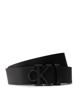Calvin Klein Calvin Klein Ζώνη Ανδρική Mono Hardware Round Belt 35mm K50K507065 Μαύρο