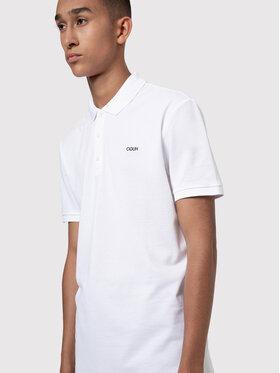 Hugo Hugo Polo Donos204 50435522 Biały Regular Fit