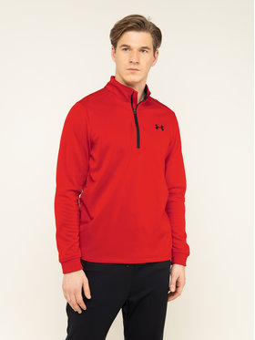 Under Armour Under Armour Technisches Sweatshirt Fleece® ½ Zip 1320745 Rot Loose Fit