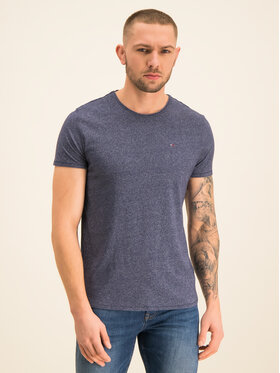 Tommy Jeans Tommy Jeans T-Shirt Tjm Essential Jaspe DM0DM04792 Granatowy Slim Fit