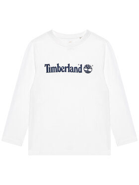 Timberland Timberland Блуза T25S26 D Бял Regular Fit