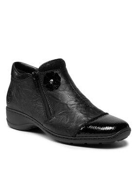 Rieker Rieker Členková obuv 58388-00 Čierna