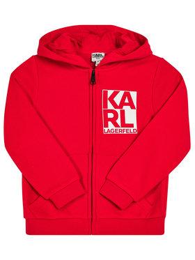 KARL LAGERFELD Mikina Z25236 M Červená Regular Fit