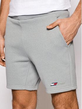Tommy Hilfiger Tommy Hilfiger Sportshorts Logo Fleece MW0MW17234 Grau Regular Fit