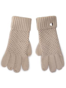 Liu Jo Liu Jo Dámské rukavice Guanti Nido Dape 2F0023 M0300 Béžová