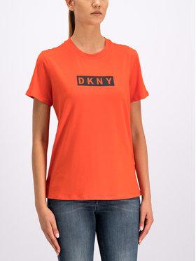 DKNY Sport DKNY Sport Marškinėliai DP9T6745 Raudona Regular Fit