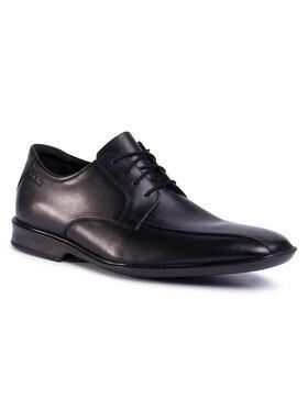 Clarks Clarks Pantofi Bensley Run 261495967 Negru