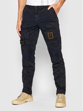 Aeronautica Militare Aeronautica Militare Pantalon en tissu 212PA939CT83 Bleu marine Slim Fit
