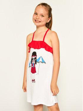 Little Marc Jacobs Little Marc Jacobs Sukienka codzienna W12310 S Biały Regular Fit