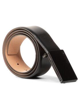 Calvin Klein Calvin Klein Pánský pásek 35Mm Adj Metal Plaque K50K505749 Černá