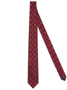Tommy Hilfiger Tailored Tommy Hilfiger Tailored Cravate Paisley TT0TT08355 Rouge