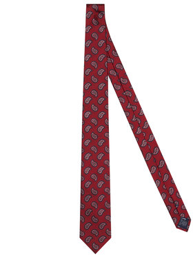Tommy Hilfiger Tailored Tommy Hilfiger Tailored Kravata Paisley TT0TT08355 Červená