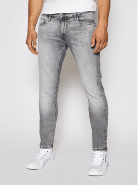 Guess Guess Jeansy Chris M1RA27 D4BA1 Szary Super Skinny Fit