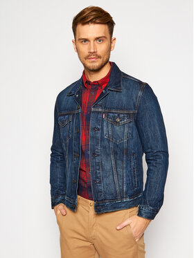 Levi's® Levi's® Farmer kabát The Trucker 72334-0352 Sötétkék Slim Fit
