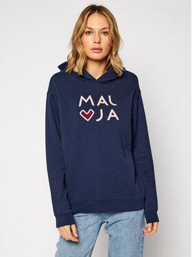 Maloja Maloja Sweatshirt MassangM. 30417-1-8325 Dunkelblau Regular Fit